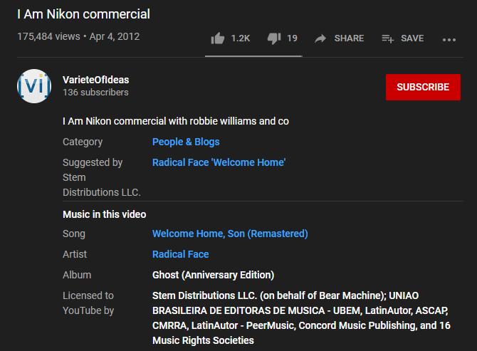YouTube Music dans cette vidéo