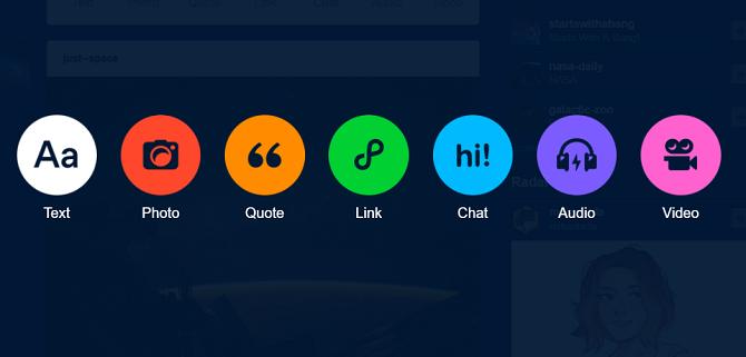 comment utiliser les nouvelles options de publication de Tumblr