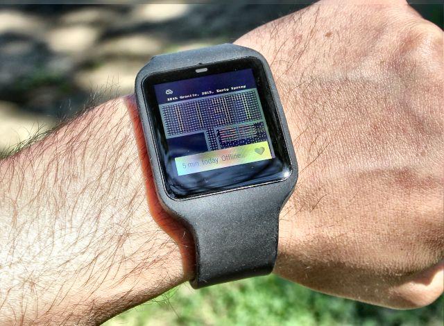 sony smartwatch 3 watchface
