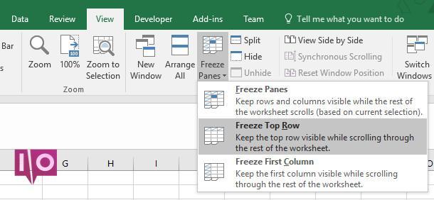 5 raisons de ne pas imprimer les feuilles de calcul Excel et de meilleures alternatives geler les cellules