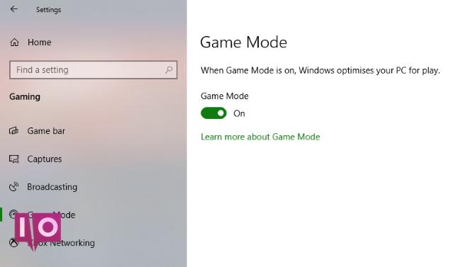 Le mode de jeu Windows peut améliorer les performances de Steam