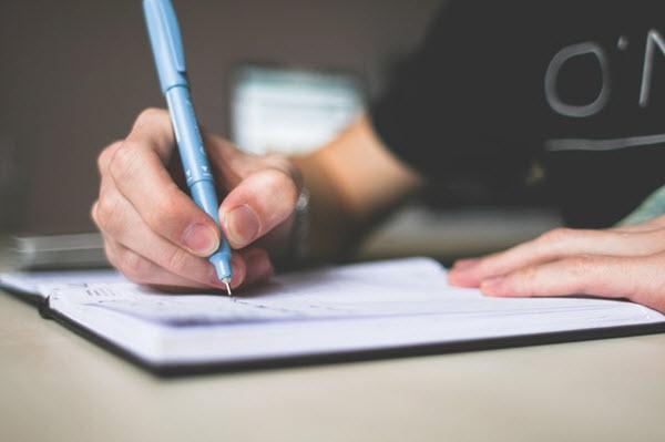 écrire la liste