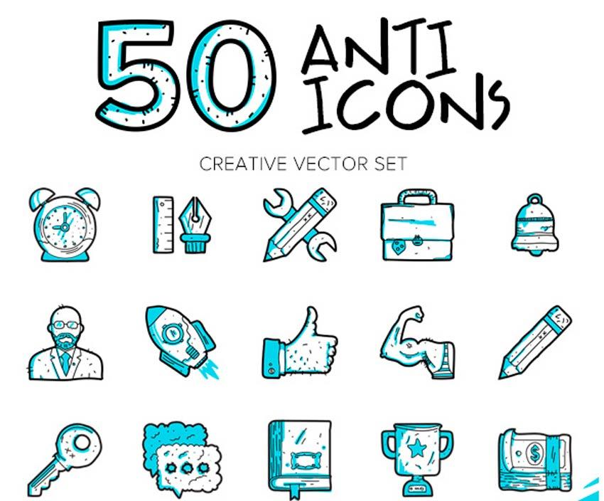 Anti-icônes