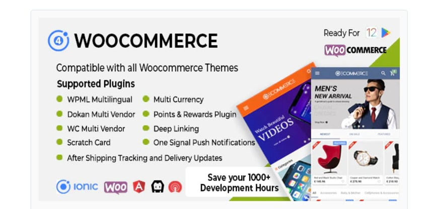 Woocommerce ionique