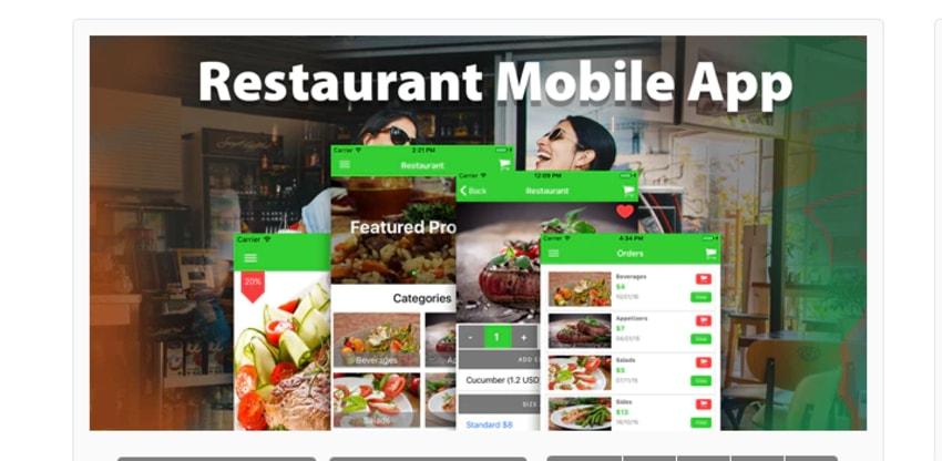 Restaurant Ionic 3