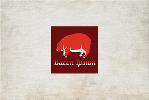 Le logo Bacon Ipsum.