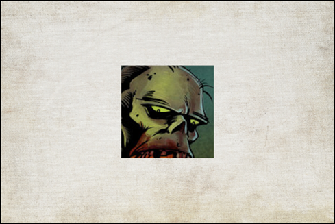 Le logo Zombie Ipsum.