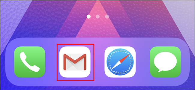Ouvrez l'application Gmail