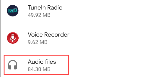 choisir les fichiers pour supprimer les fichiers généraux