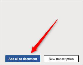 Tout ajouter au document
