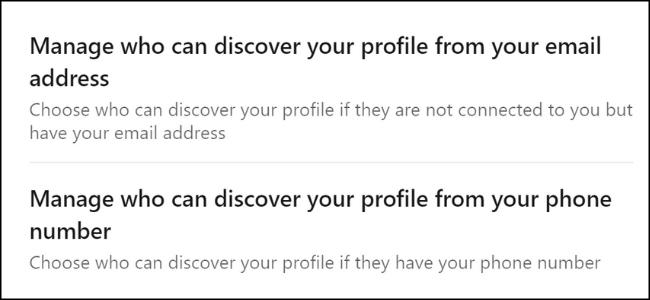 Découverte des e-mails LinkedIn