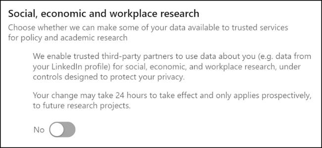 LinkedIn Participer à des sondages