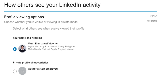 Comment les autres voient votre activité LinkedIn