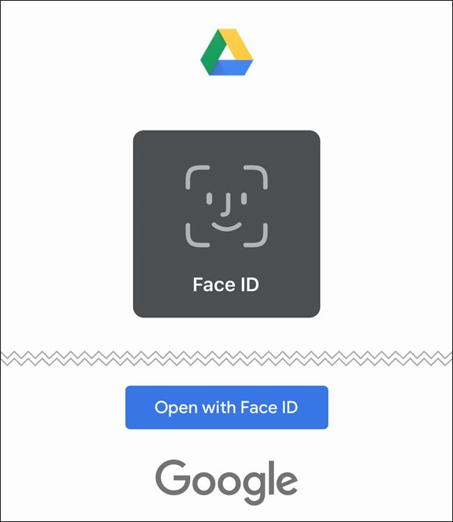 Google Drive utilisera désormais Face ID ou Touch ID pour s'authentifier
