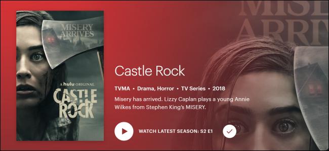 """Hulu Original """"Castle Rock""""."""