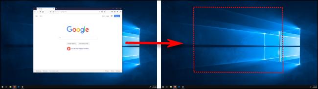 Déplacement d'une fenêtre entre les affichages dans Windows 10
