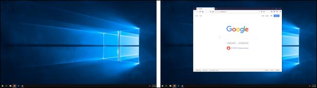 Fenêtre déplacée entre les affichages dans Windows 10
