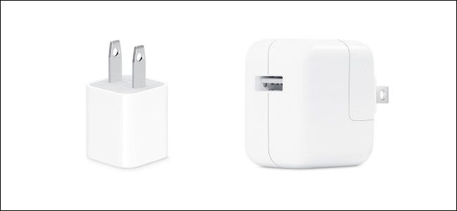 Chargeurs iPhone et iPad