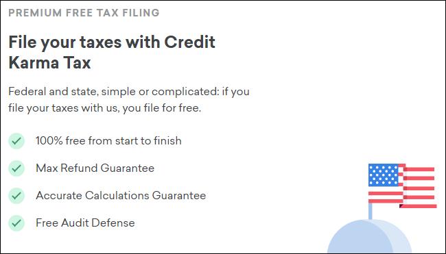 Crédit Karma Tax's pitch.