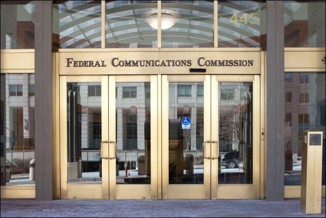 Le siège de la FCC à Washington, DC.