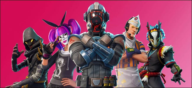 Epic Games Personnages Fortnite