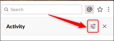 Cliquez sur le bouton Afficher les options.