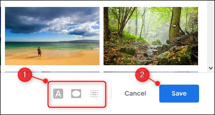 """Ajustez les options de thème (si disponibles), puis cliquez ou appuyez sur """"Enregistrer""""."""