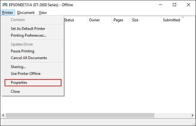 Cliquez sur Imprimante> Propriétés dans la file d'attente d'impression de votre imprimante» width=»635″ height=»409″ onload=»pagespeed.lazyLoadImages.loadIfVisibleAndMaybeBeacon(this);» onerror=»this.onerror=null;pagespeed.lazyLoadImages.loadIfVisibleAndMaybeBeacon(this);»></p> <p>Dans les propriétés de votre imprimante, cliquez sur l'onglet «Avancé» puis cochez la case «Conserver les documents imprimés».</p> <p>Cliquez sur «OK» pour enregistrer vos paramètres.</p> <!-- WP QUADS Content Ad Plugin v. 2.0.31 --> <div class=
