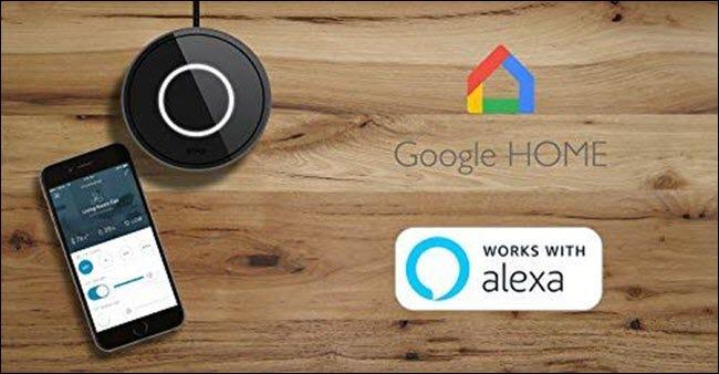 Pont intelligent Bond pour Google Home et Alexa.