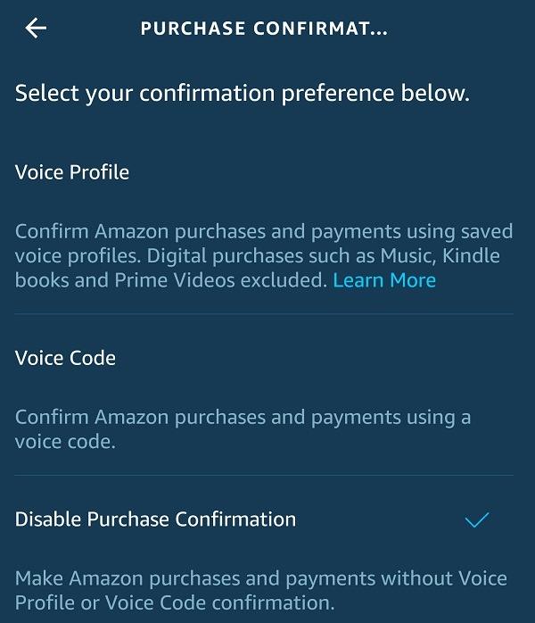 Comment éviter les achats vocaux accidentels avec Amazon Alexa Code