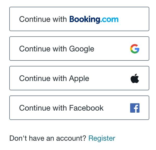 Connectez-vous avec Apple Login