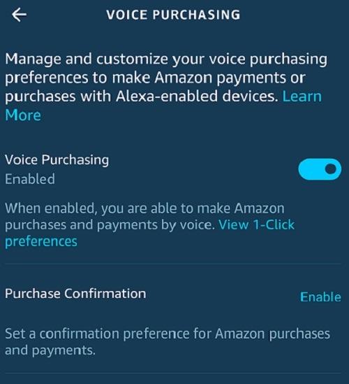 Comment éviter les achats vocaux accidentels avec les achats Amazon Alexa