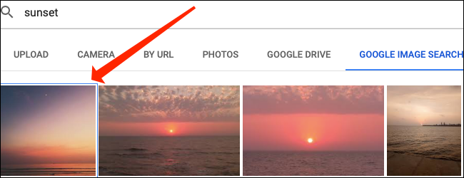 Double-cliquez sur l'image que vous souhaitez insérer dans une cellule de Google Sheets.
