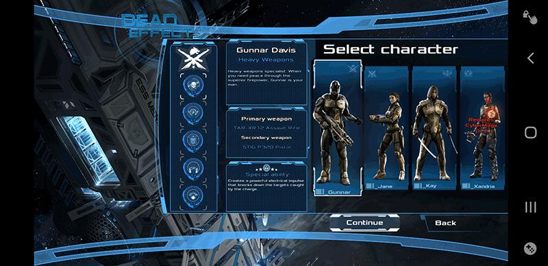 Jeux de tir Android Dead Effect 2