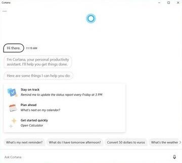 Le nouveau Microsoft Cortana est-il toujours utile