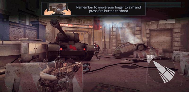 Jeux de tir Android Cover Fire