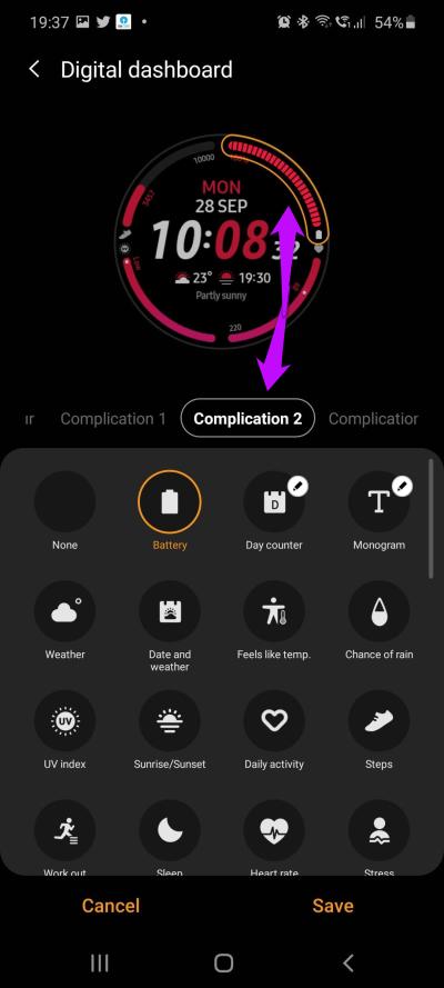9 meilleurs trucs et astuces pour Samsung Galaxy Watch 3 en 2020 6