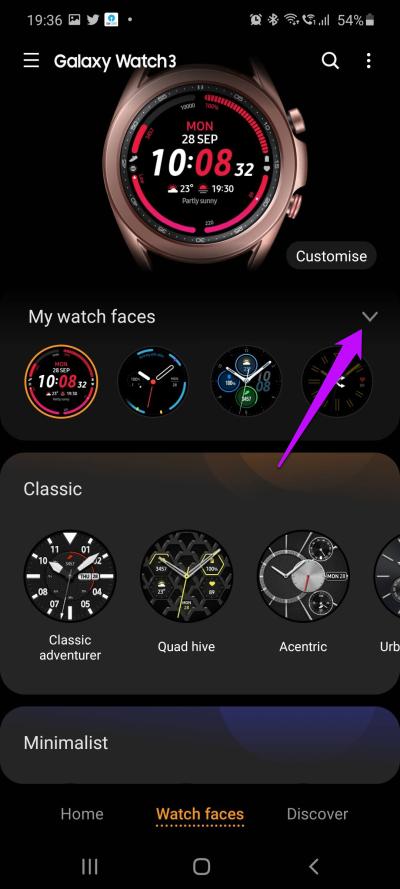 9 meilleurs trucs et astuces pour Samsung Galaxy Watch 3 en 2020 4