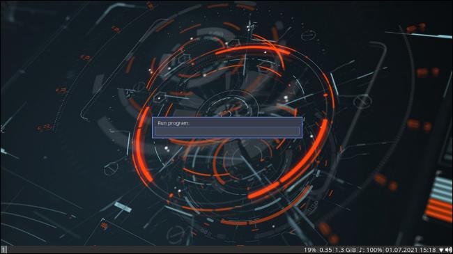 ArcoLinux avec le gestionnaire de fenêtres i3