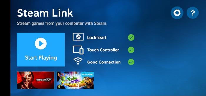 Comment configurer les paramètres de lecture à distance du client Steam Link 1