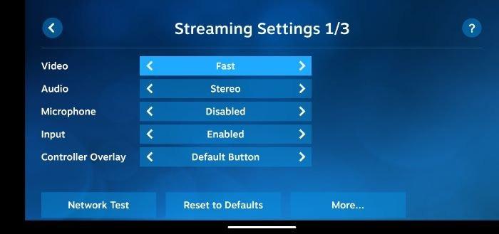 Comment configurer les paramètres de lecture à distance du client Steam Link 3