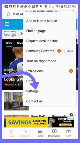paramètres-de-navigateur-samsung