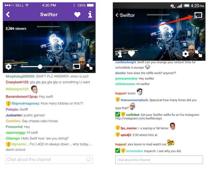 Diffusez Twitch sur Roku Chromcast