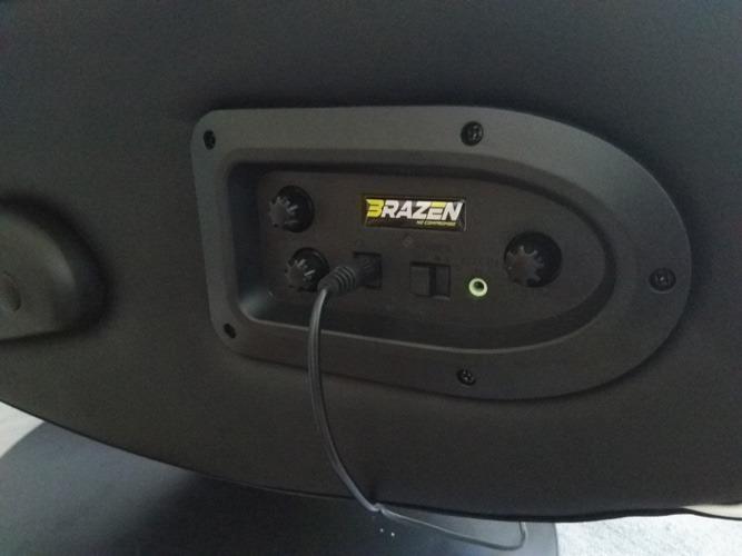 Panneau d'examen de la chaise de jeu Bluetooth Brazen Panther