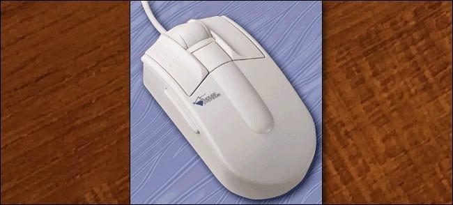 La souris à défilement ProAgio 1995 de Mouse Systems
