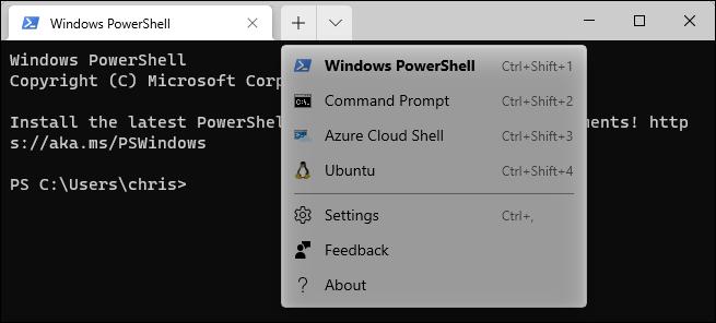 Cliquez sur la flèche vers le bas et sélectionnez votre distribution Linux.