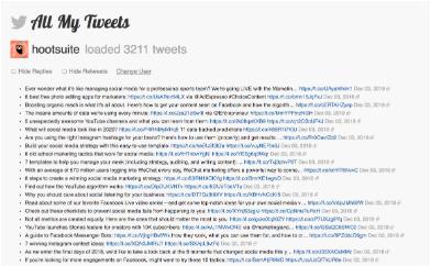 Tous les résultats de recherche de Mes Tweets