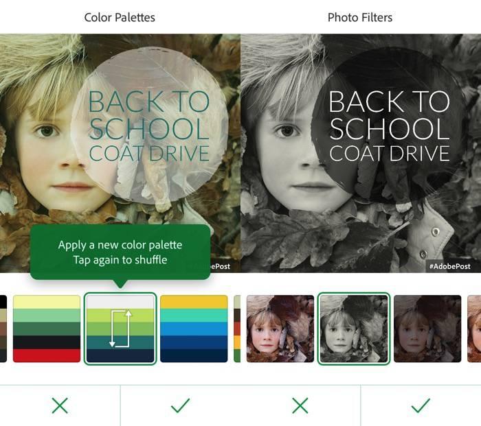 Adobe Post -mte- 07 - Palettes de couleurs n Filtres photo
