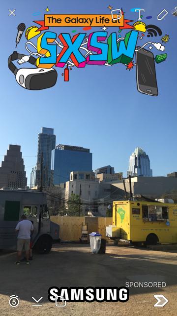Snapchat SXSW