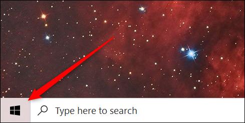 Cliquez avec le bouton droit sur le bouton Démarrer pour ouvrir le menu Power User.